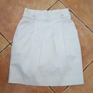 BCBG MAXAZRIA Paper-Bag Waist Mini Skirt